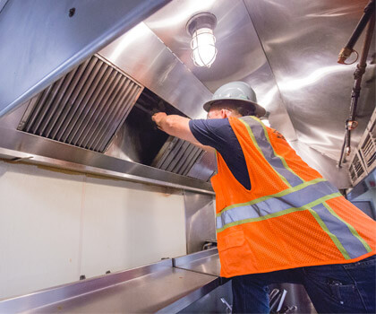 The Cleaning Process Of Commercial Hood Cleaning Company